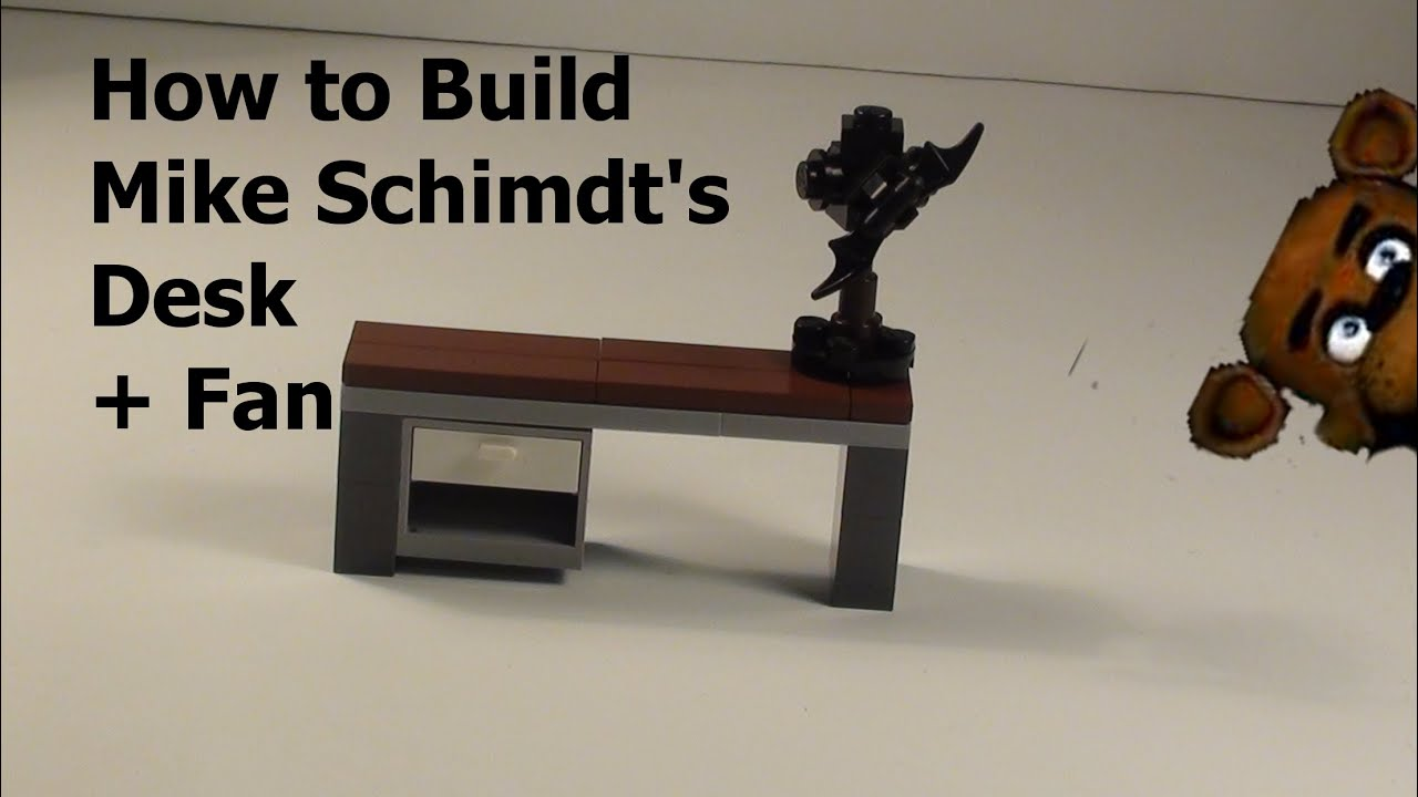How To Build Lego Fnaf Office