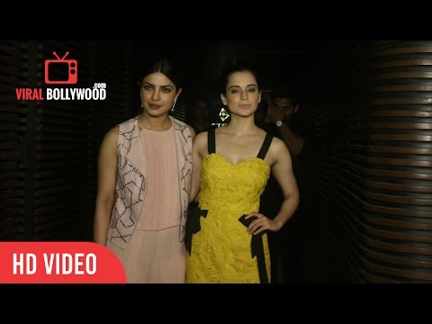 Thumbnail: Kangana Ranaut At Priyanka Chopra's Grand Party | Viralbollywood