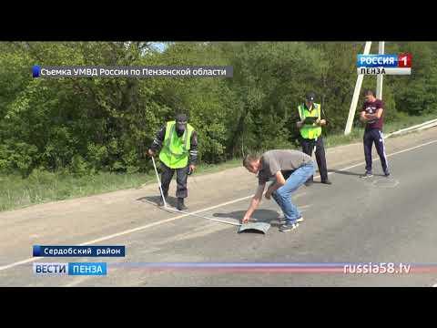 В Сердобском районе авария унесла жизни трех мужчин