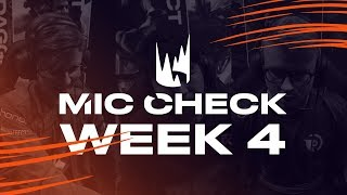LEC Mic Check: Week 4 | Spring Split 2019