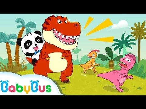 ❤ Tyrannosaurus-Rex | Nursery Rhymes | Kids Songs | BabyBus