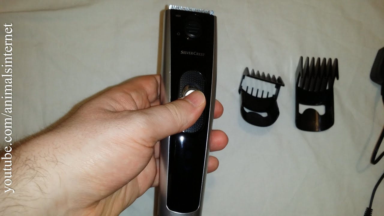 Silvercrest LIDL hair and beard trimmer IAN 270711  unboxing   how to use.  4k UHD 2160p 3daca78879