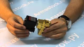 Электромагнитті клапан SMART SG5532/5534 болып тіркеді