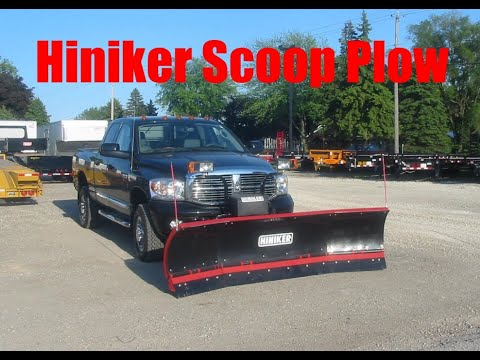 hiniker plow hook up