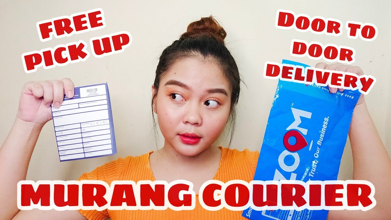 PAANO MAGPADALA NG PACKAGE? Murang Courier, Free Pick Up at Door to Door Delivery! | Zoom Courier