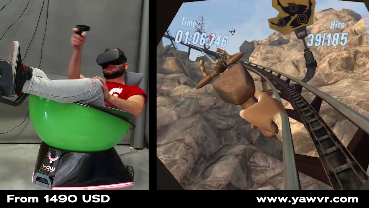 BREAKING NEWS: Epic Roller Coasters supports Yaw VR on Quest!