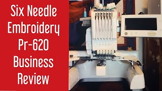 Review of BabyLock Embroidery Professional & PR-620 Brother