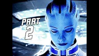 Mass Effect Legendary Edition Gameplay Walkthrough Part 2 - LIARA (PS5 4k)