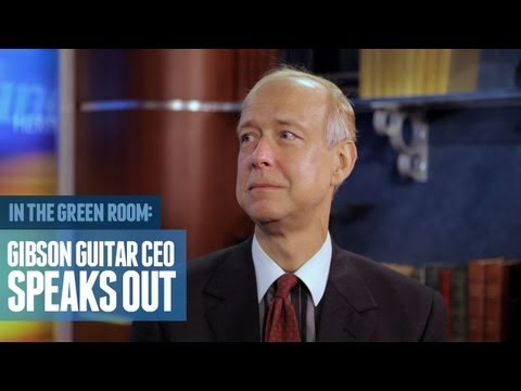 Gibson Guitar CEO Speaks Out