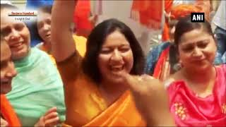 Karnataka Elections 2018 : Celebrations after BJP becomes single largest party in state