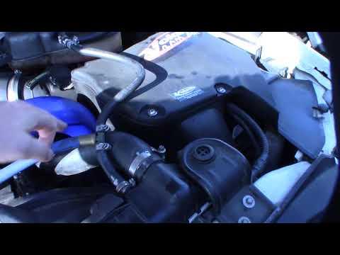 Ford F250 Powerstroke Diesel EBP exhaust back pressure sensor installation troubleshooting