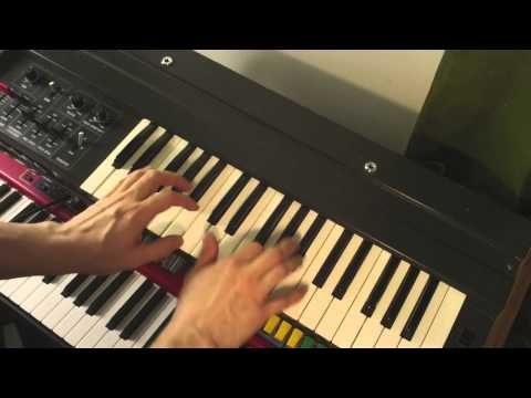 Teisco S-100P analog synth