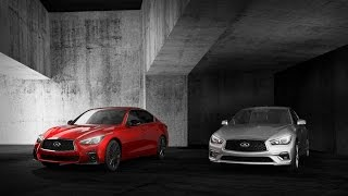 Look THIS !!! 2018 Infiniti Q50 Red Sport