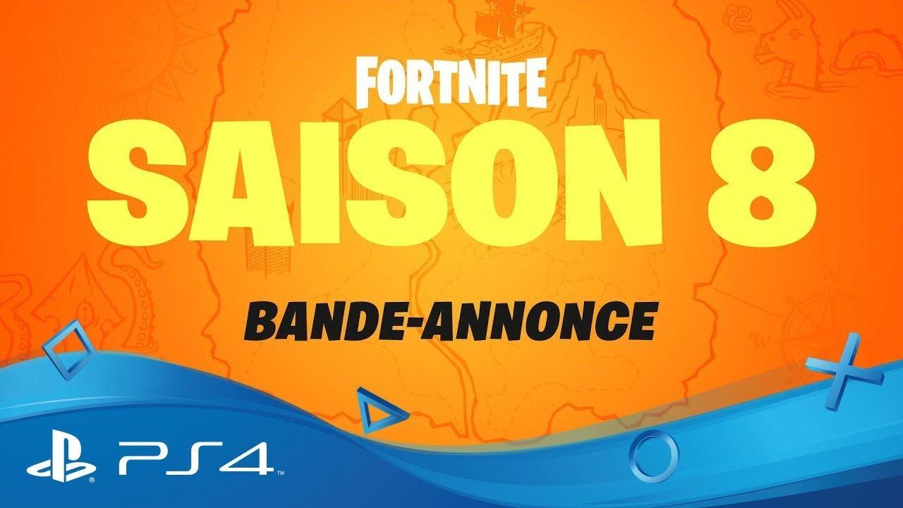 ps4 fortnite saison8 - logo de chaine youtube gaming fortnite