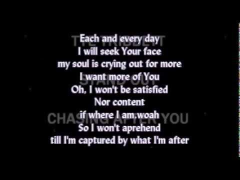 Chasing After You - Tye Tribbett