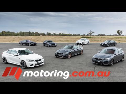 2017 BMW M140i, M2, M3, M4 GTS, M5, M6, X6M Track test