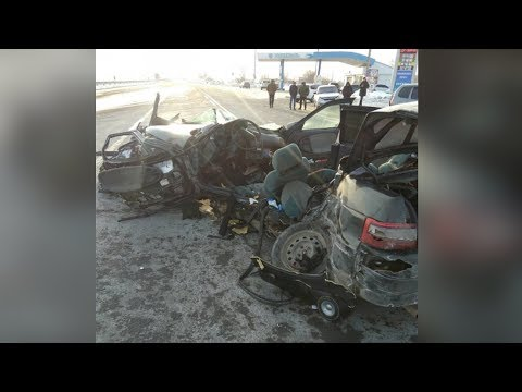 "ДТП на трассе ""Оренбург - Илек"" попало на камеры"