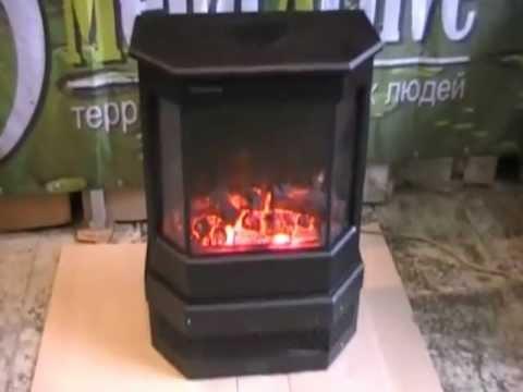 Имитация пламени, Электрокамины Electrolux вживую, EFP/W-1250rcl .