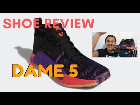 ADIDAS DAME 5 SHOE REVIEW 2020
