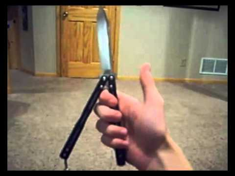 Butterfly Knife Tutorial: Basic Opening, Double Rollout