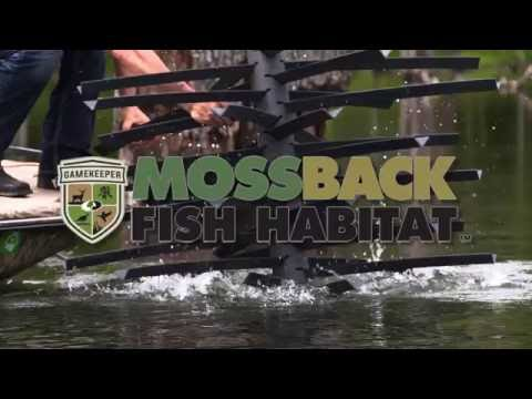 How Our Fish Habitat Works | GameKeepers Mossback Fish Habitat