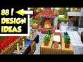 88 Minecraft House Interior Design Ideas for Survival Building