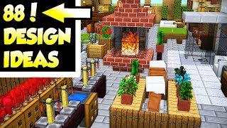 Minecraft house interior design ideas