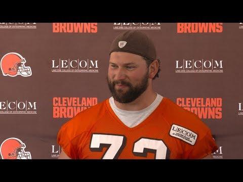 Joe Thomas: Everyone wants to run the football