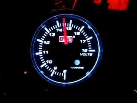 hqdefault auto gauge volt meter youtube