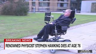 Best moments of Stephen hawking  |Tech's science|