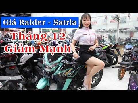 Satria 2020 - Raider 2020 | Giá Xe Satria Và Giá Raider Giảm Mạnh Tháng 12 + Trả Góp