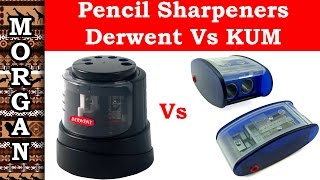 Pencil sharpener review Derwent Vs KUM  - Jason Morgan Art