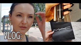 VLOG шоппинг со мной Иду в DM Покупки от BECCA и моя первая помада от MAC