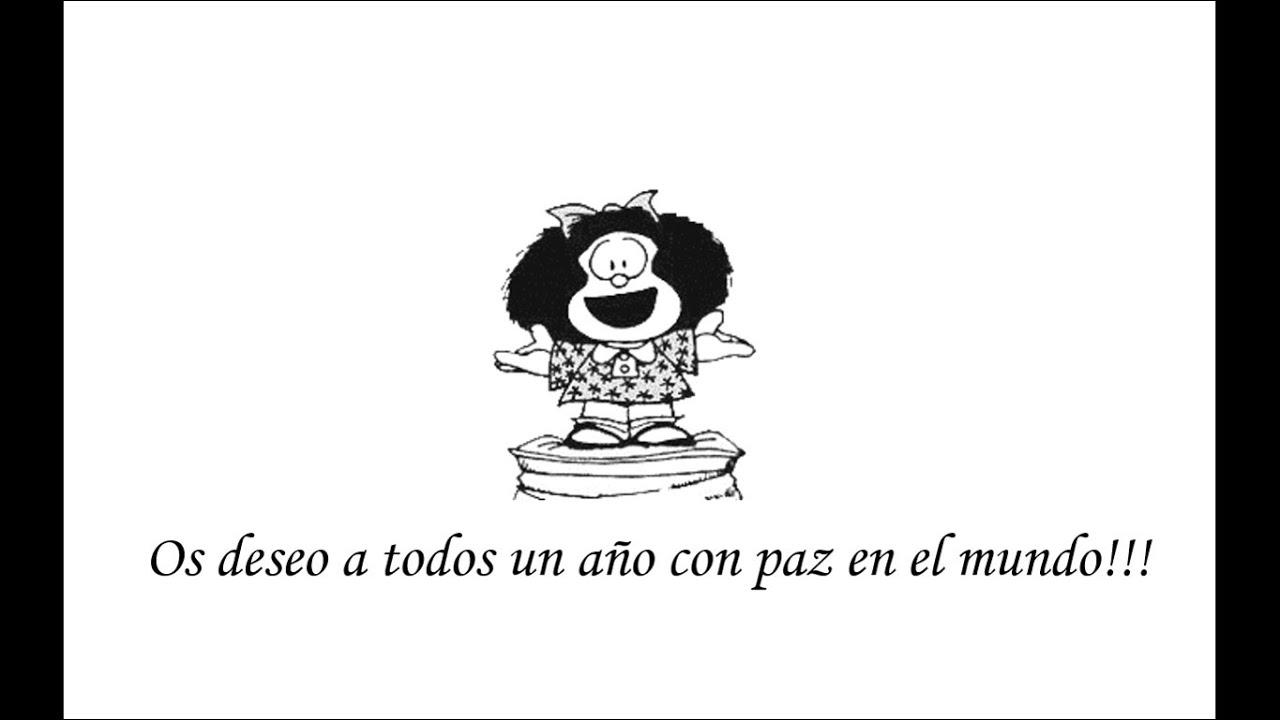 Feliz año nuevo por Mafalda - YouTube