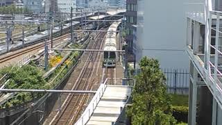 【ついこの間引退した車両】JR山手線E231系走行動画(新宿 イーストデッキにて)