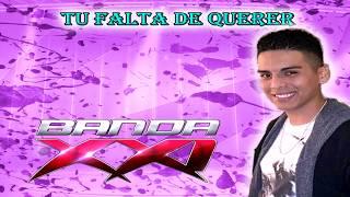 TU FALTA DE QUERER - BANDA XXI (Karaoke)