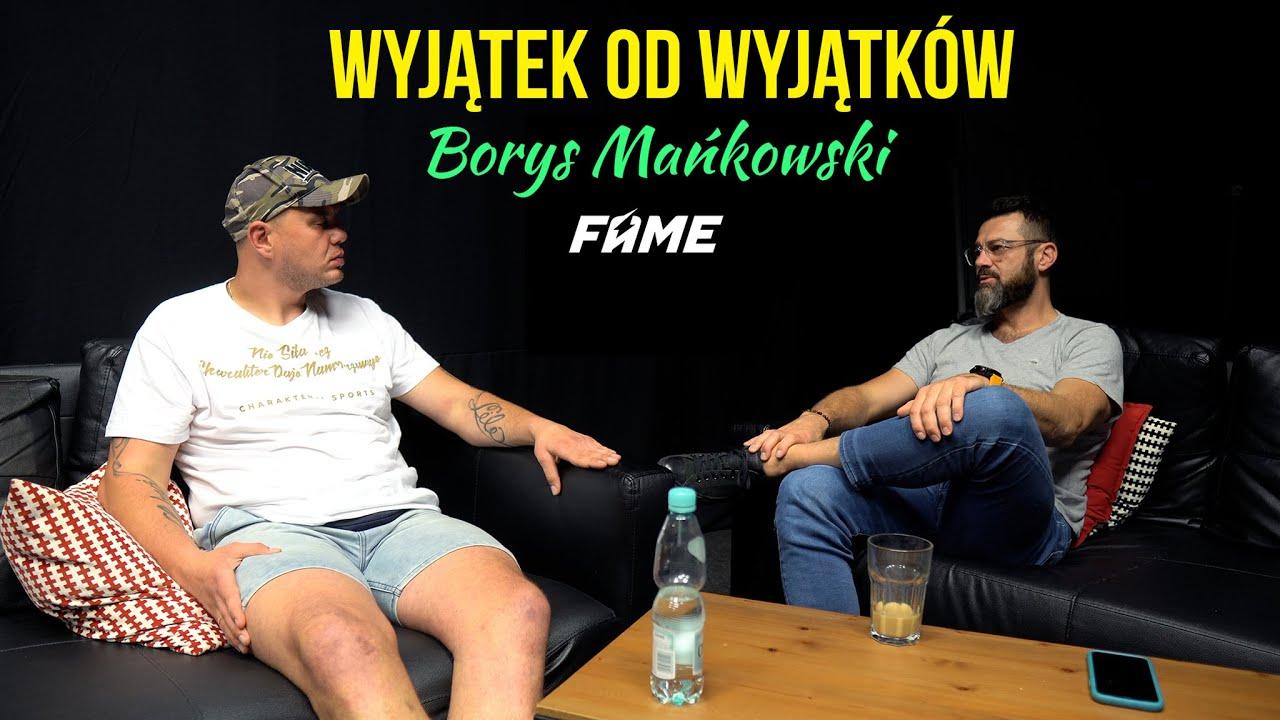 Borys Mańkowski zawalczy na FAME MMA 11 | Co na to Martin Lewandowski?