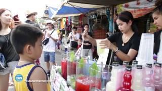 Hot Girl bán trà chanh ở Chartuchar-Bangkok