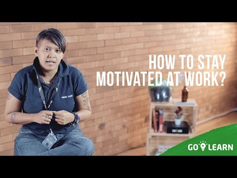 ▸▸ How To Stay Motivated At Work? // Sam Diah💡GO-LEARN