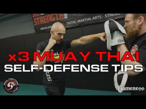 Top 3 Muay Thai Tips for Self-Defense
