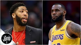Why Lakers should give up 'everything' for Anthony Davis | The Jump