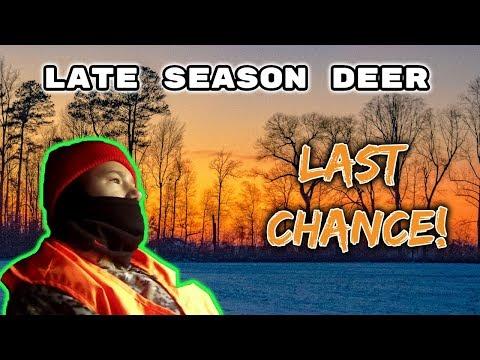 Delaware Deer Season End - Last Chance For Garrett To Tag A Buck!