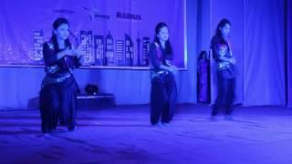 Dance Performance By Nabila, Tasmia, Raisa at Civil '15 Reception BUET