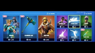 NOUVEAU MOXIE SKIN!- 14 septembre Item Shop(Fortnite Battle Royale) NEW ITEM SHOP VOTING
