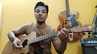 Ajnabee Bhuvan Bam BB Ki Vines Guitar Cover Chords