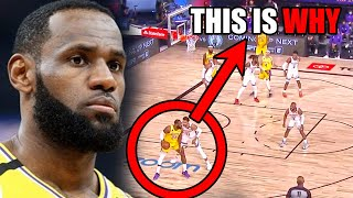 What's WRONG With LeBron James In The NBA Restart? (Ft. Lakers, Defense, & Pain)