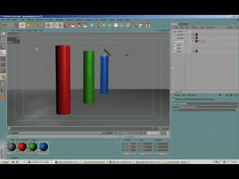 Using 3D Position Data from Cinema 4D in After Effects.