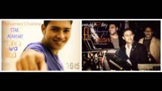غناء محمد شاهين بالاشتراك مع الموسيقار محمد عبد السلام  قبل استار اكدمي22-6-2015
