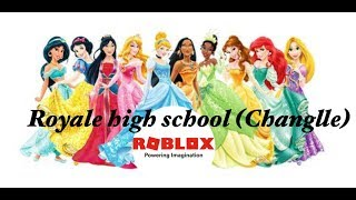 Disney Princess Changlle in Royale high | Roblox | GraceThePanda| YT