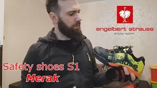 """#3  Рабочая обувь  """"Merak"""" (S1), ''Engelbert Strauss'' (Германия). Распаковка - обзор"""
